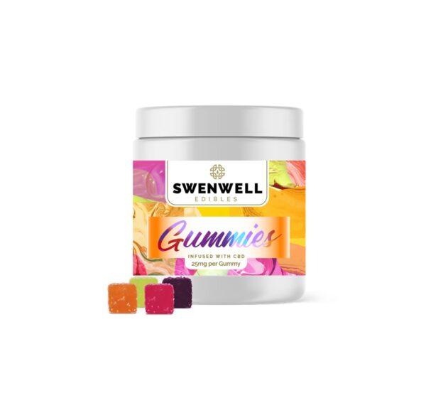 Swenwell CBD Gumicukor 25mg